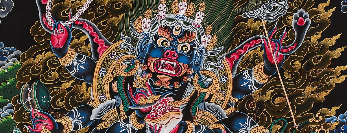 Facial expression - Mahakala