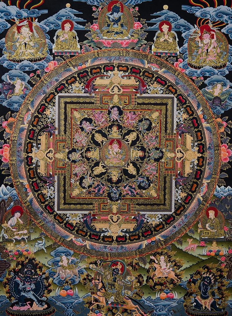 Mandala of Vajrasattva Shakti