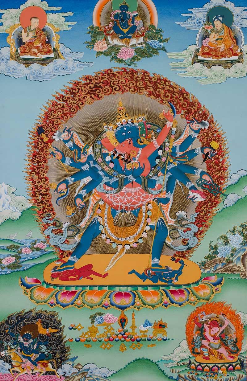 Thangka of Chakrasamvara