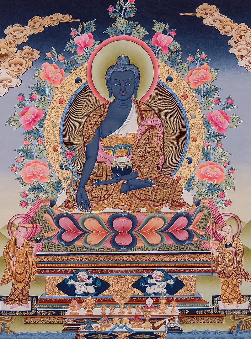 Thangka of the Medicine Buddha