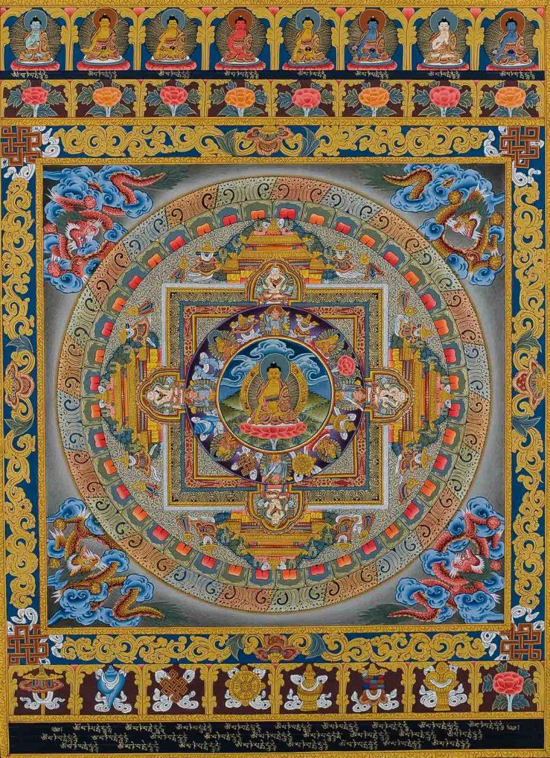 Shakyamuni Buddha Mandala