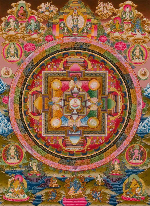 Vajrasattva Mandala