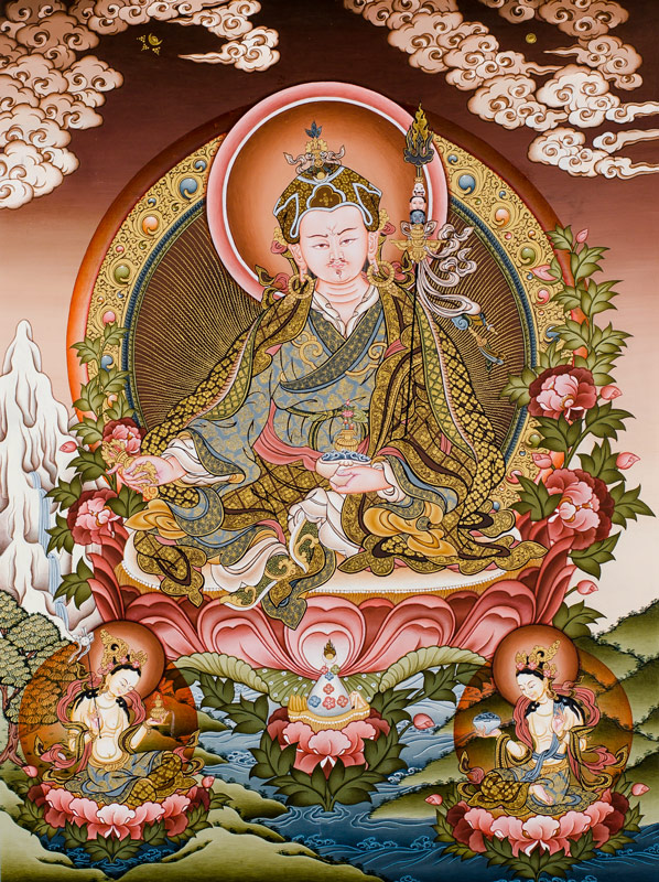 Thangka of the Guru Rimpoche
