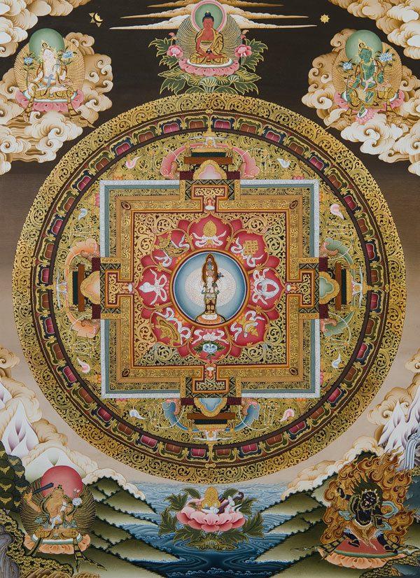 Mandala de Avalokiteshvara