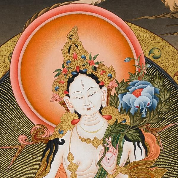 White Tara - Facial Details